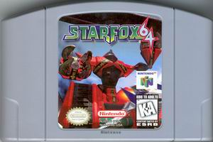 Star Fox 64 (USA) Cart Scan